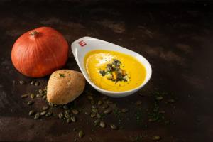 Pumpkin soup Erbenhof style