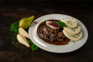 Game goulash from Thuringian game