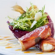 Traditional but modern dishes at Erbenhof