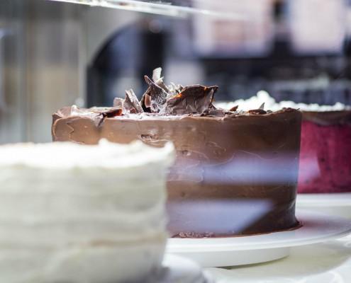 Kuchenangebot im Erbenhof
